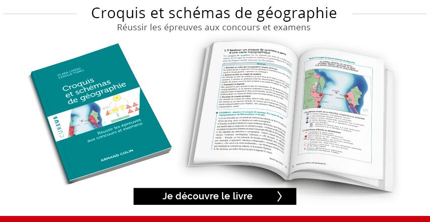 """Découvrir extrait du livre """"Croquis et schémas de géographie"""""""