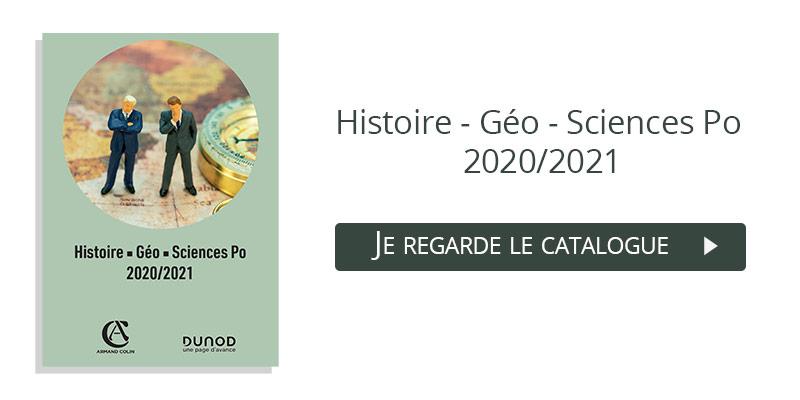 feuilleter le catalogue Histoire Geo Sciences Po