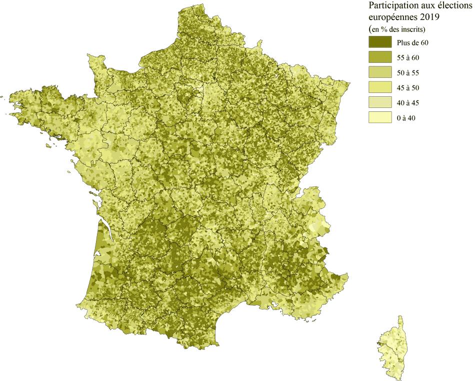 Participations Elections européennes 2019