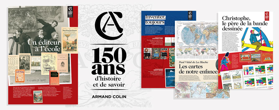 150 ans Armand colin - Exposition