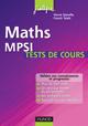 Tests de cours